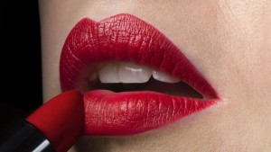 red lipsick