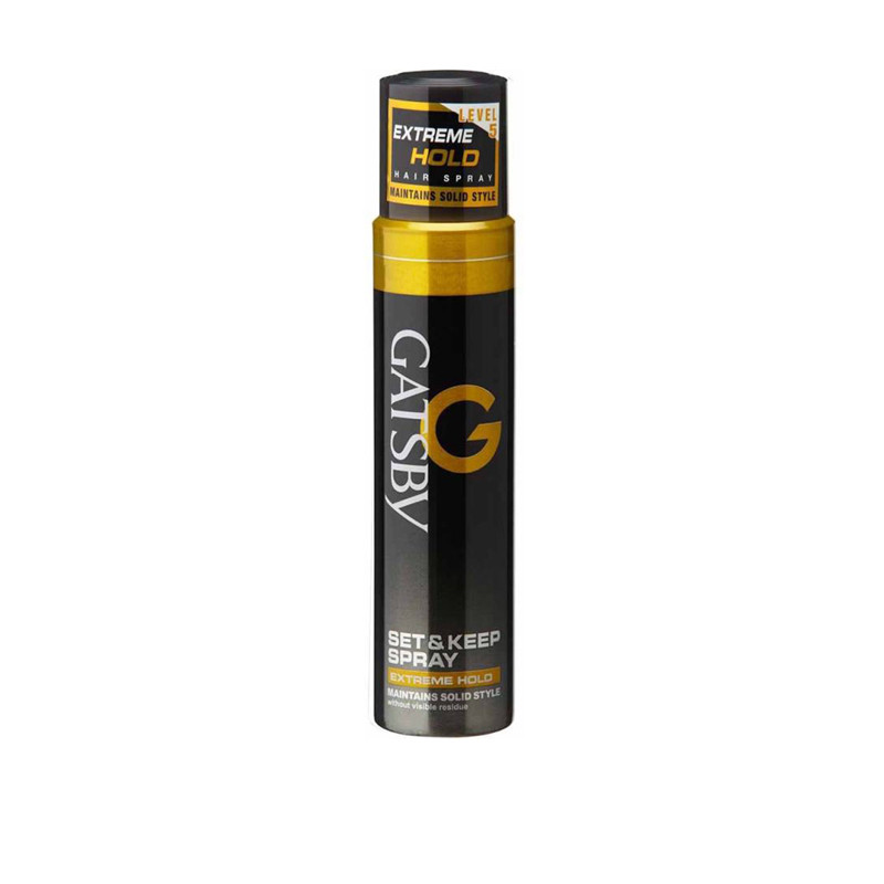Gatsby Set & Keep Hair Spray Extreme Hold-66Ml