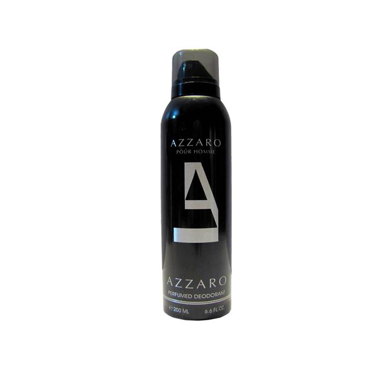 Azzaro Balck Deodorant Spray - For Men 200Ml