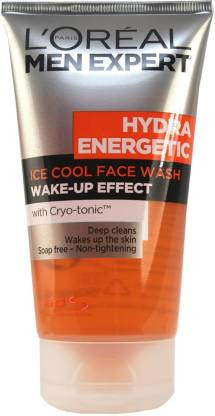 L'Oreal Paris Men Expert Hydra Energetic Ice Cool Wake Up Effect Face Wash - 150ml Face Wash(150 ml)