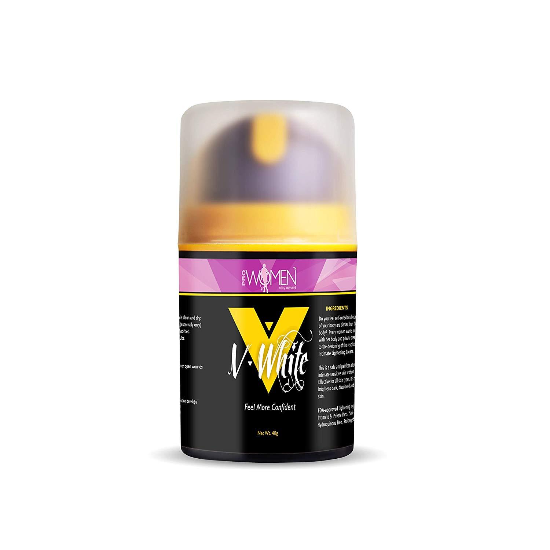 Prowomen V- White Intimate Lightening Cream, 40g