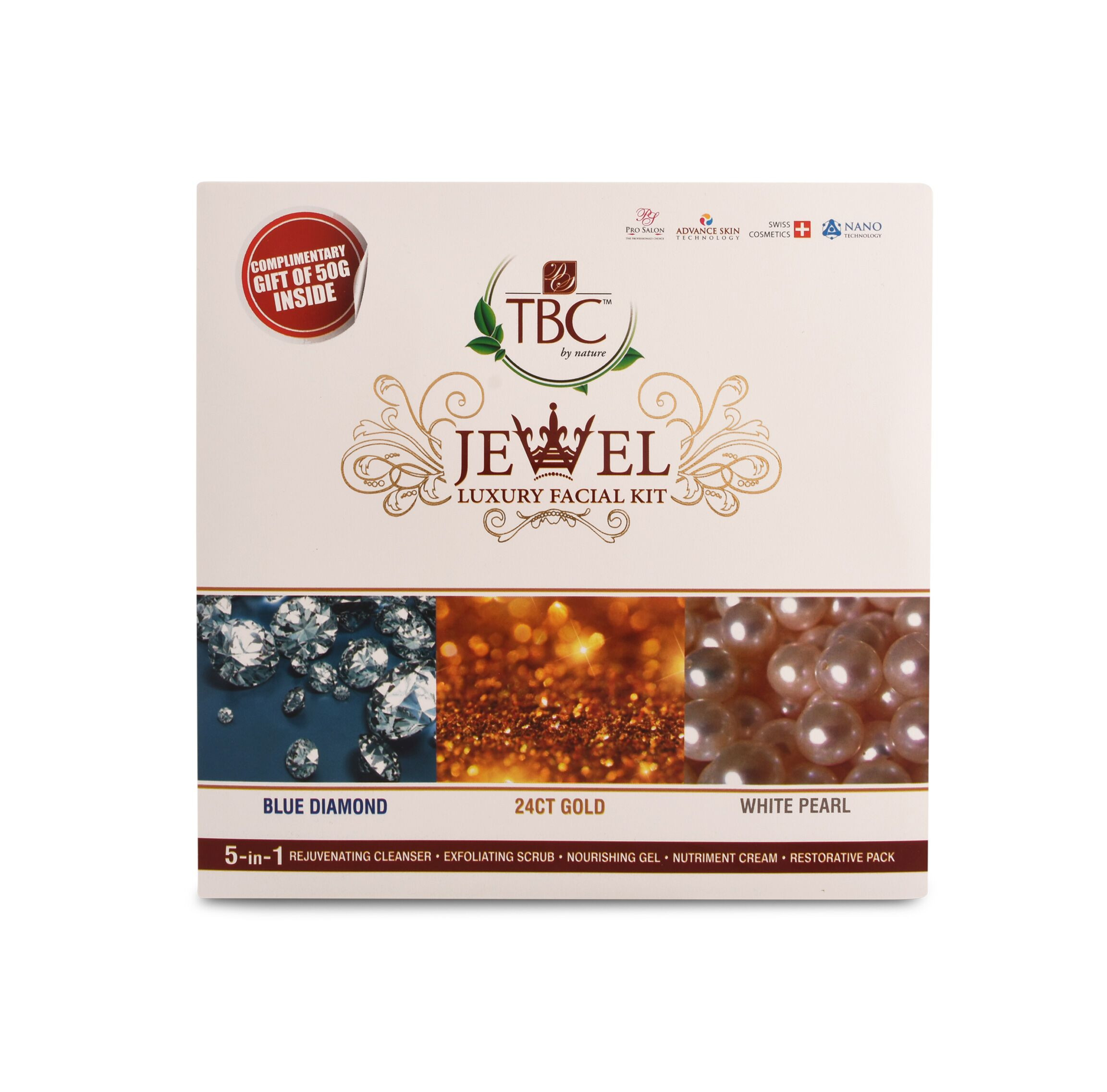TBC Jewel Facial Kit 100Gm