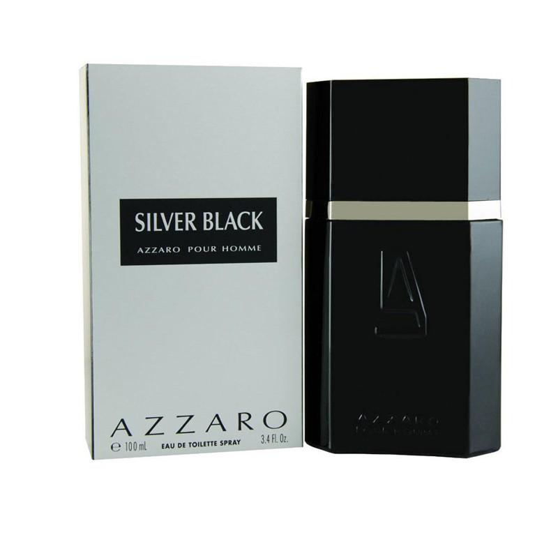 Azzaro Silver Black Eau de Toilette - 100 ml  (For Men)
