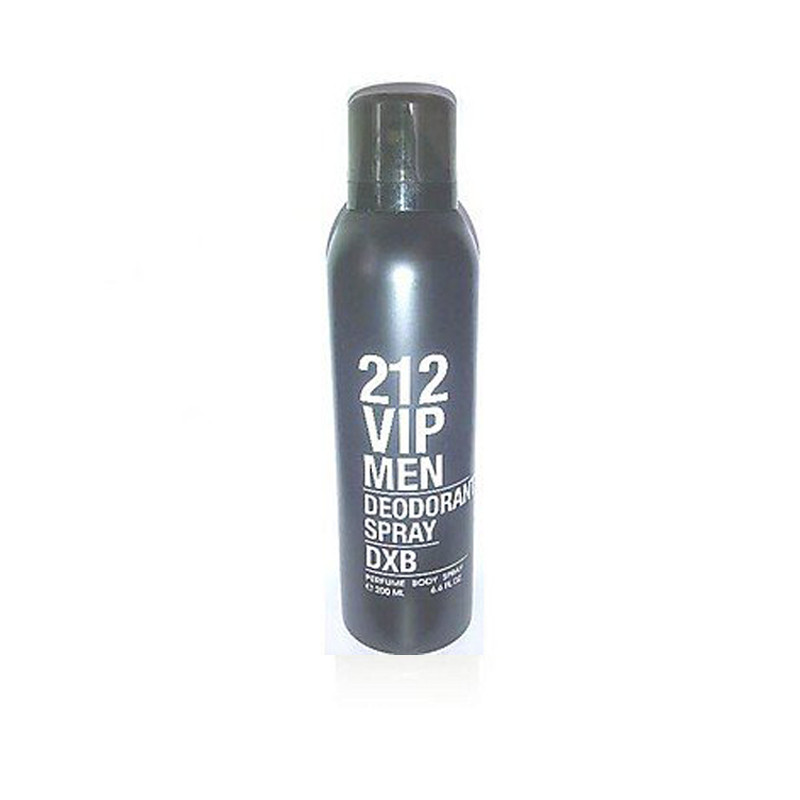Carolina Herrera 212 VIP Men  Deodorant Spray - For Men  (200 Ml)
