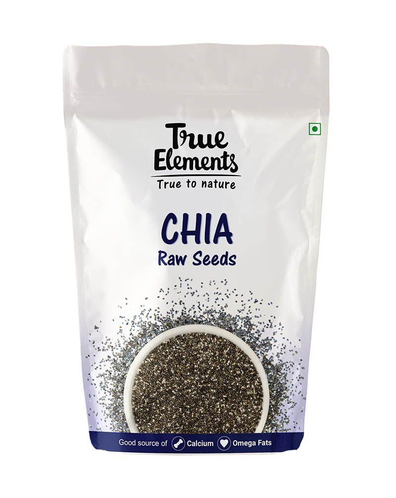 True Elements Raw Chia Seeds 1000gm