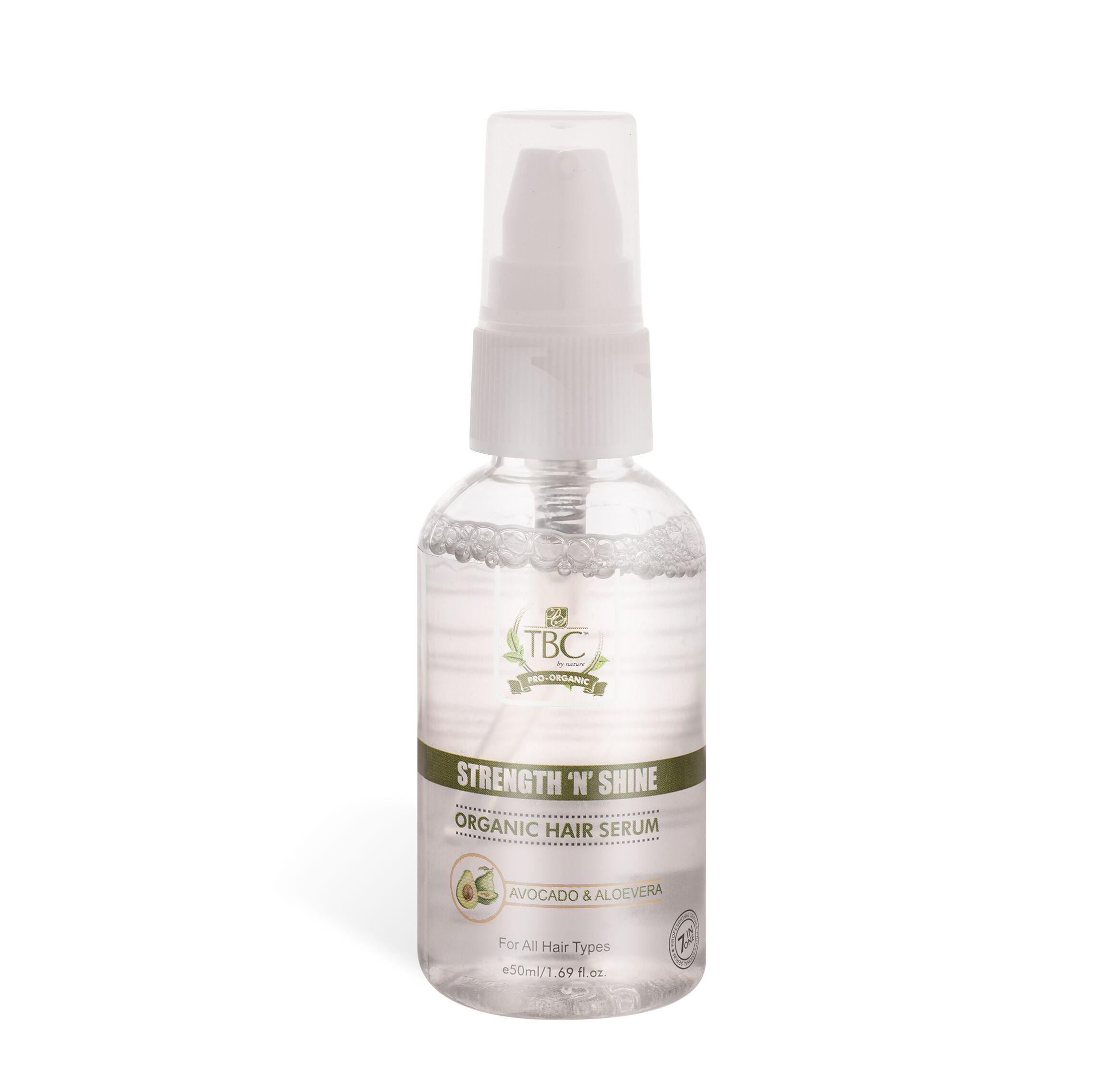 TBC Pro Strength N Shine Organic Hair Serum 50ml
