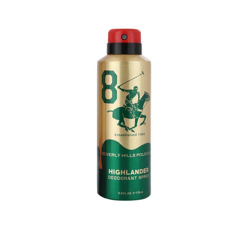 Beverly Hills Polo Club Gold Deo (175 ml) - No.8 - Highlander