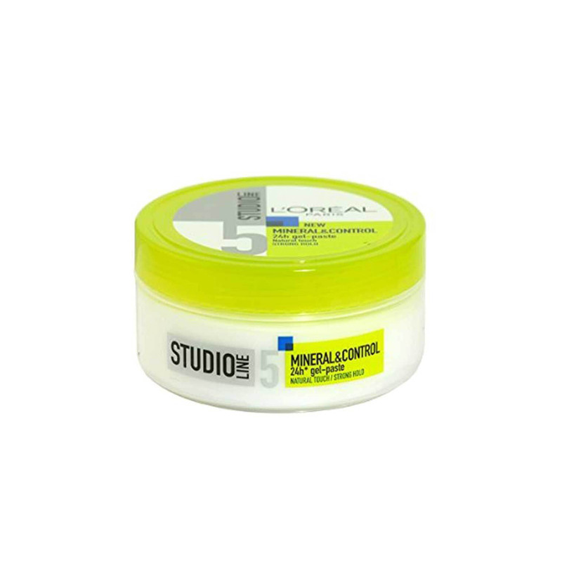 L'Oreal Paris Studio Line 5 New Mineral&Control 24h Gel Paste Hair Styler -150ml
