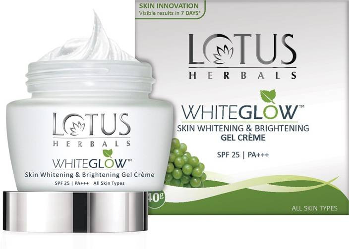 Lotus Herbals Whiteglow Skin Whitening & Brightening Gel Cream SPF-25, 40gm