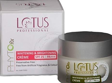 Lotus Professional Phyto-Rx SPF25 PA+++ Whitening & Brightening Creme, 50g