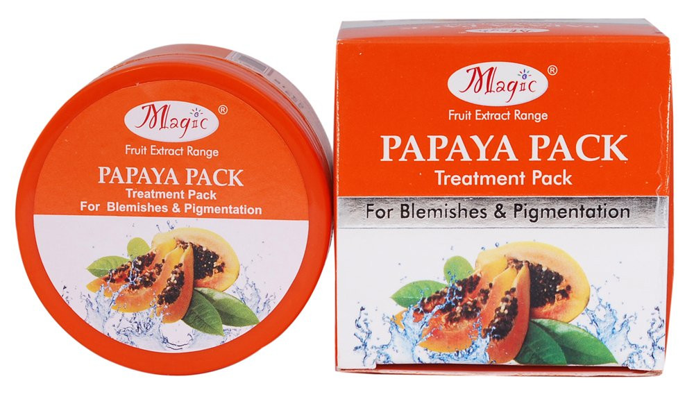 Nature's Essence Papaya Pack , 60gm (Pack Of 2)