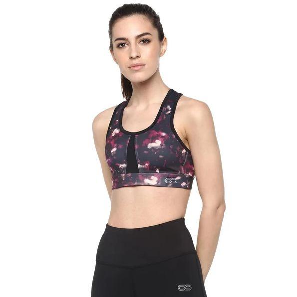 Silvertraq Women's Flex Sports Bra - Blossom Print