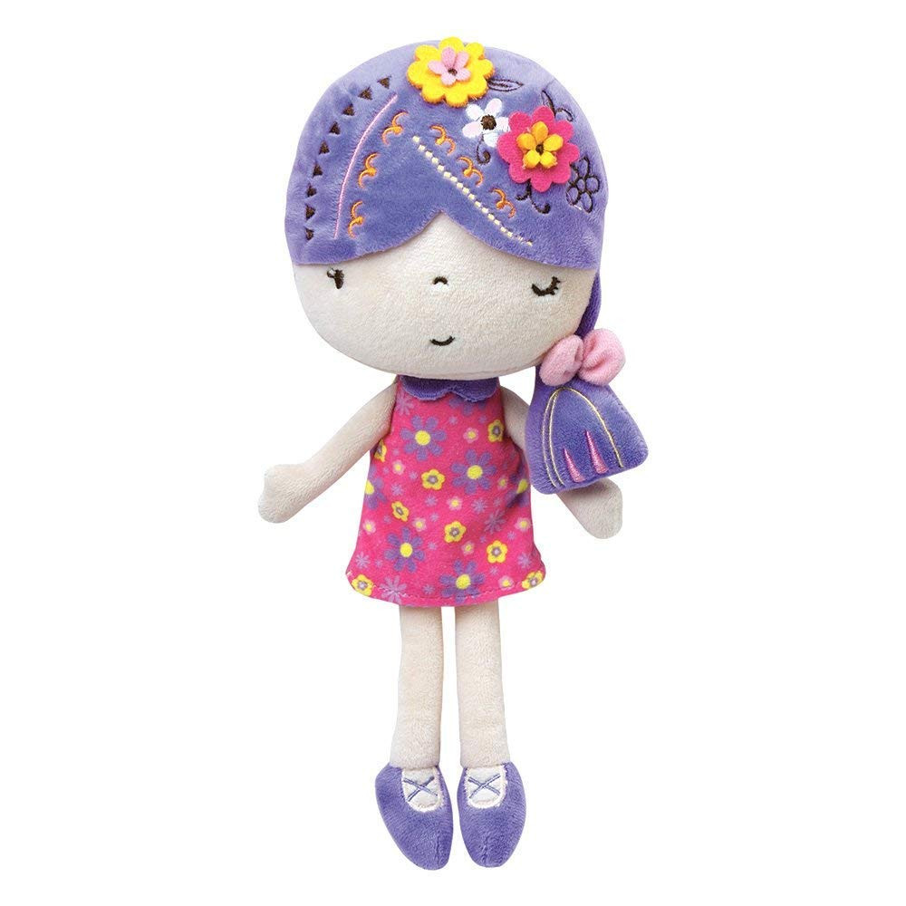 """Adora Softies Fawn 11.5"""" Plush Doll Girl Cuddly Washable Soft Snuggle Play Toy Gift for Children 0+"""