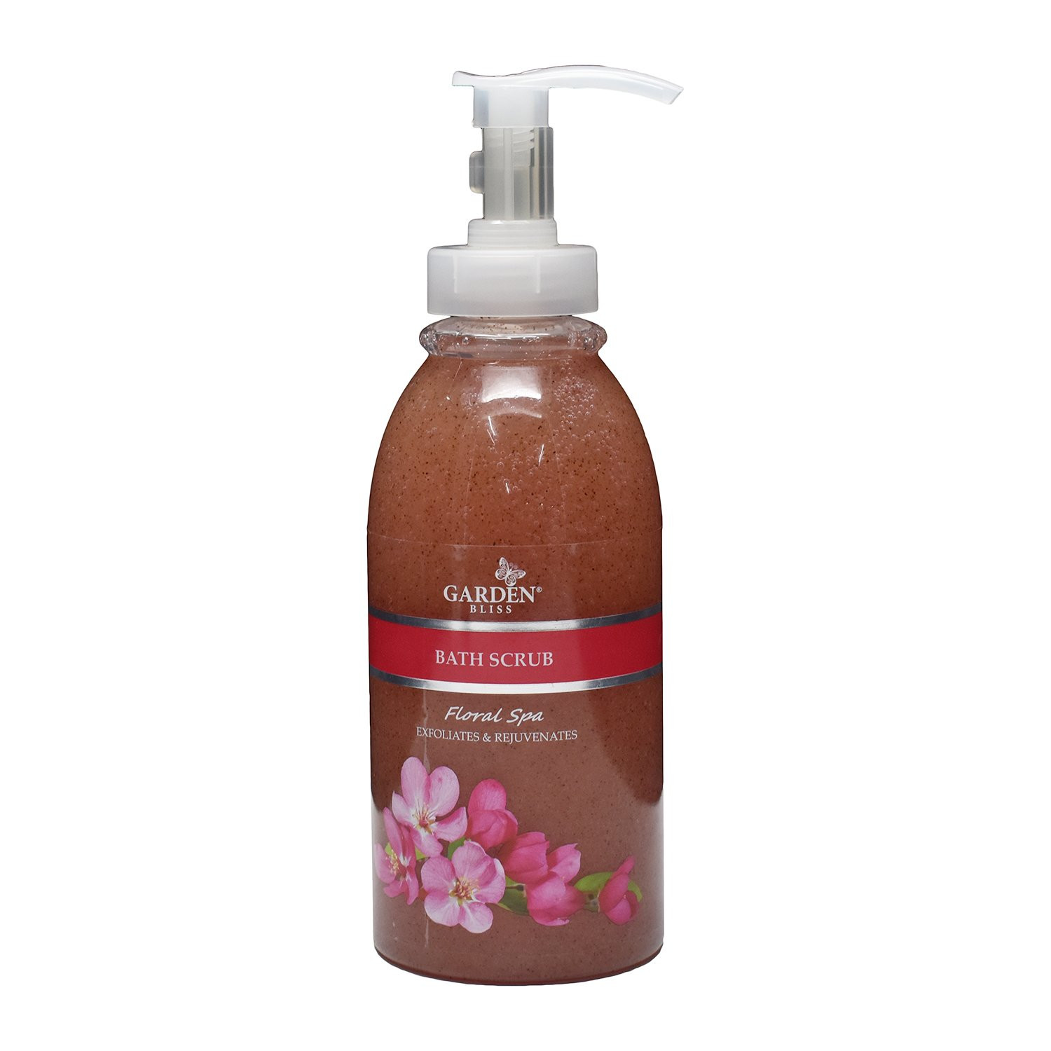 Garden Bliss Floral Spa Bath Scrub 750ml