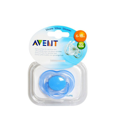 Philips Avent Freeflow Pacifiers Soother 6-18m Blue