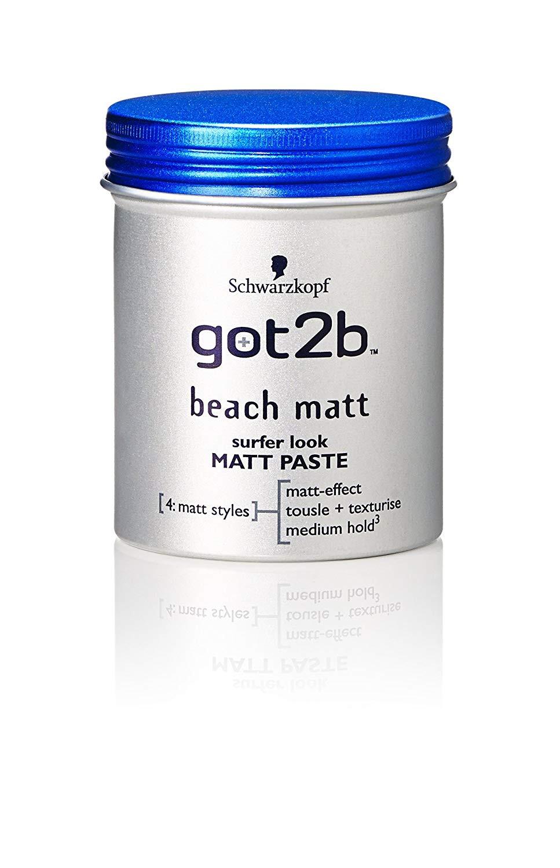 Schwarzkopf Got2b Beach Matt Paste 100 ml