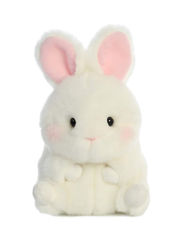 Bunbun Bunny Rolly Pet 5 inch - Stuffed Animal by Aurora Plush (08820)