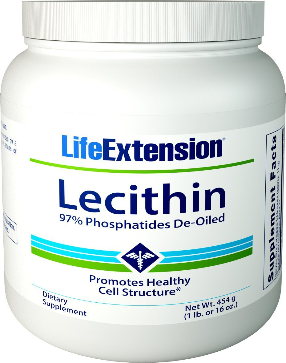 Life Extension Lecithin Granules, 16 Ounce