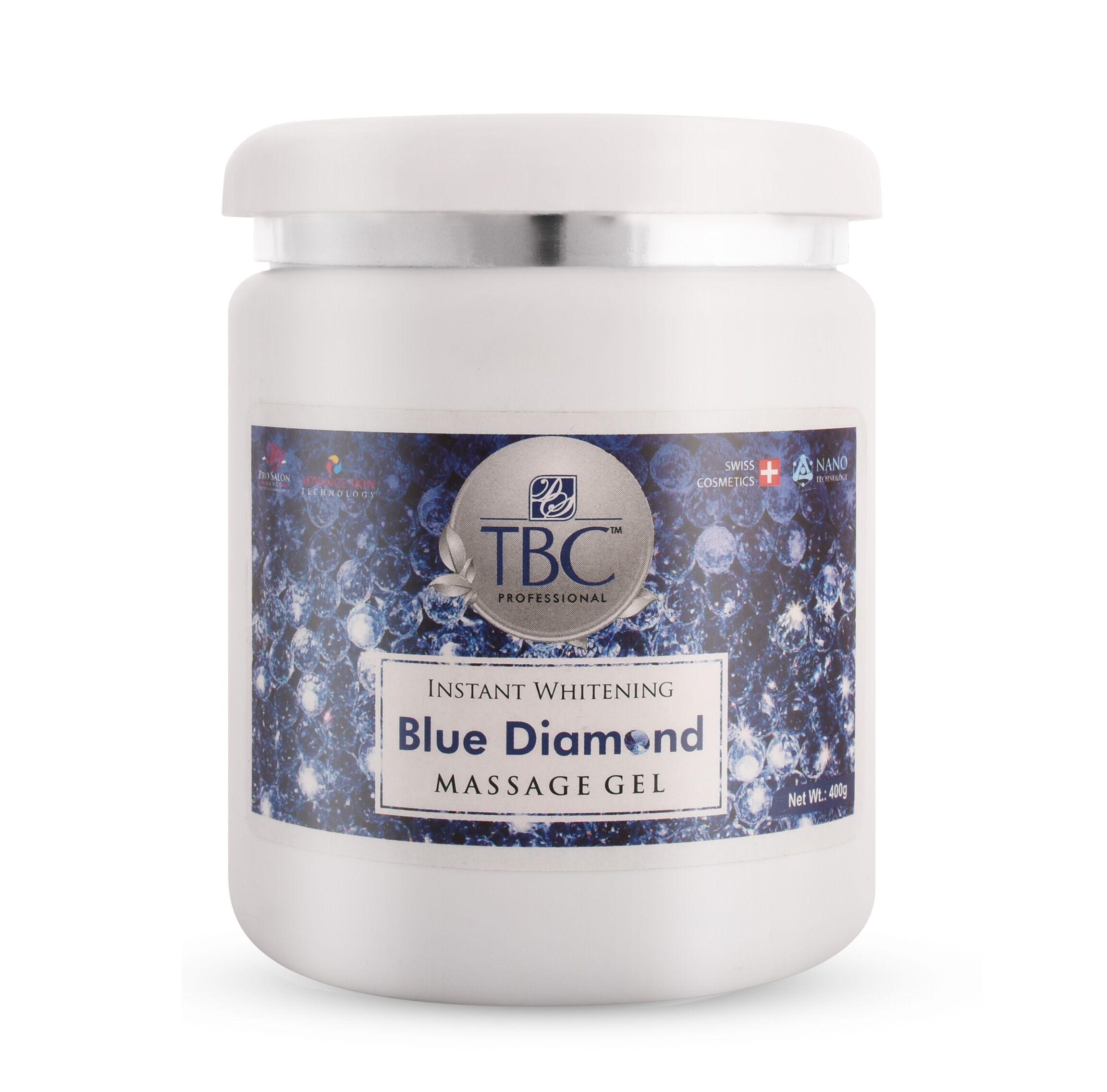 TBC Pro Blue Diamond Massage Gel 400gm