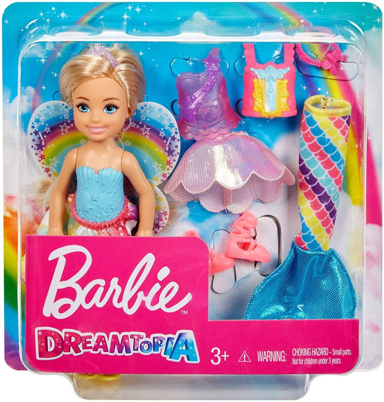 Barbie Rainbow Cove Chelsea Dress Up, Multi Color