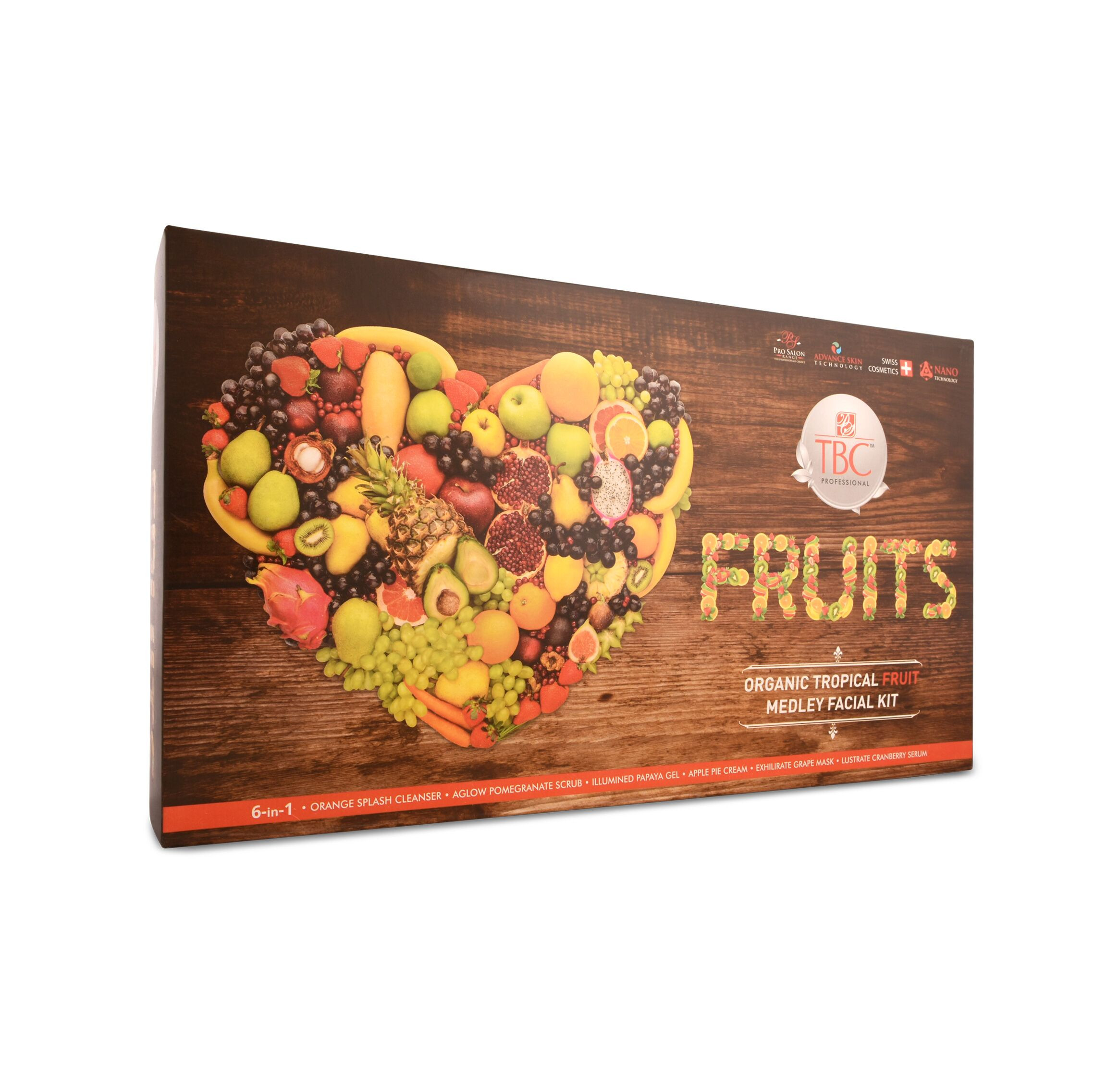 TBC Pro Organic Tropical Fruits Facial Kit 550Gm