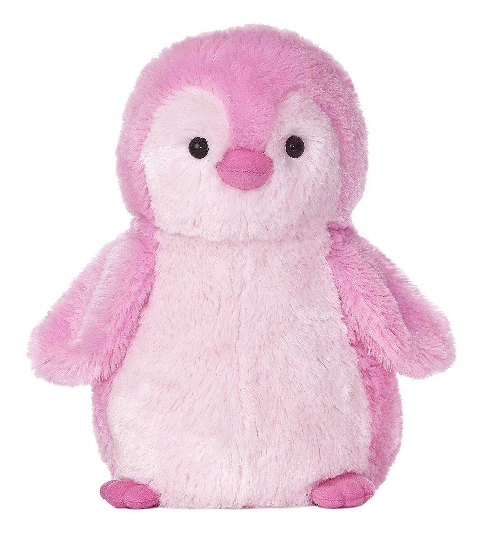 "Aurora World Destination Nation Pink Penguin Plush, 12"""