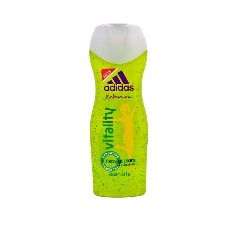 Adidas Vitality Woman Hydrating With Massage Pearls 250Ml