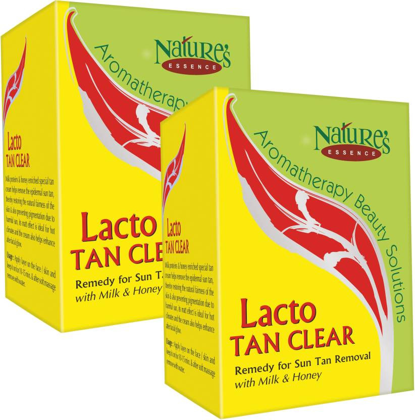 Nature's Essence LACTO TAN CLEAR 100g (Pack of 2)
