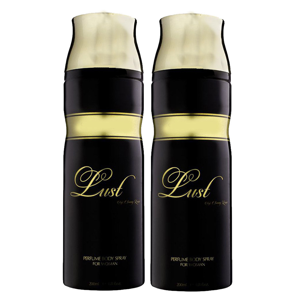 Sunny Leone Lust Deodorant For Woman200ml-(Pack of  2)