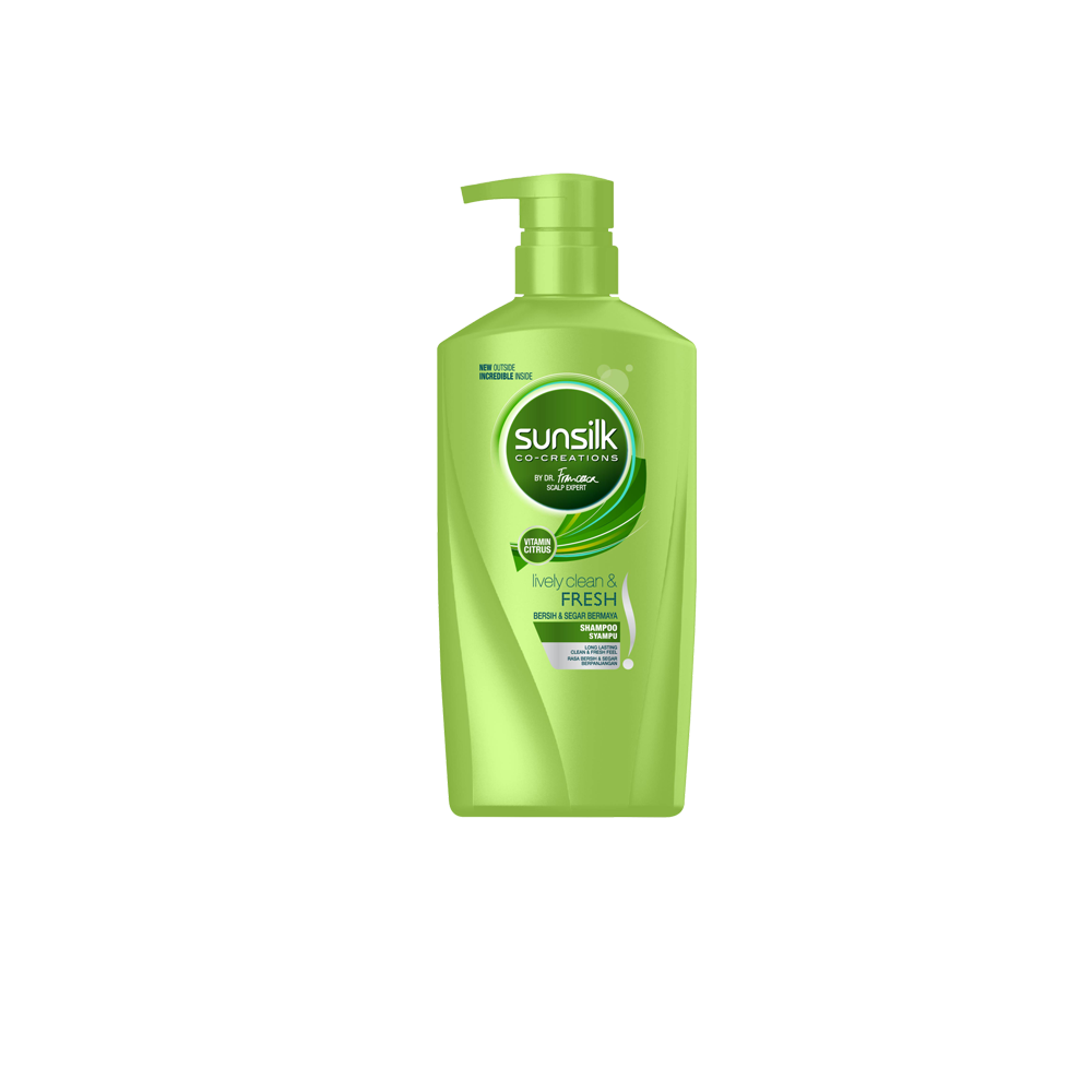 Sunsilk Lively Clean & Fresh Shampoo 650ml