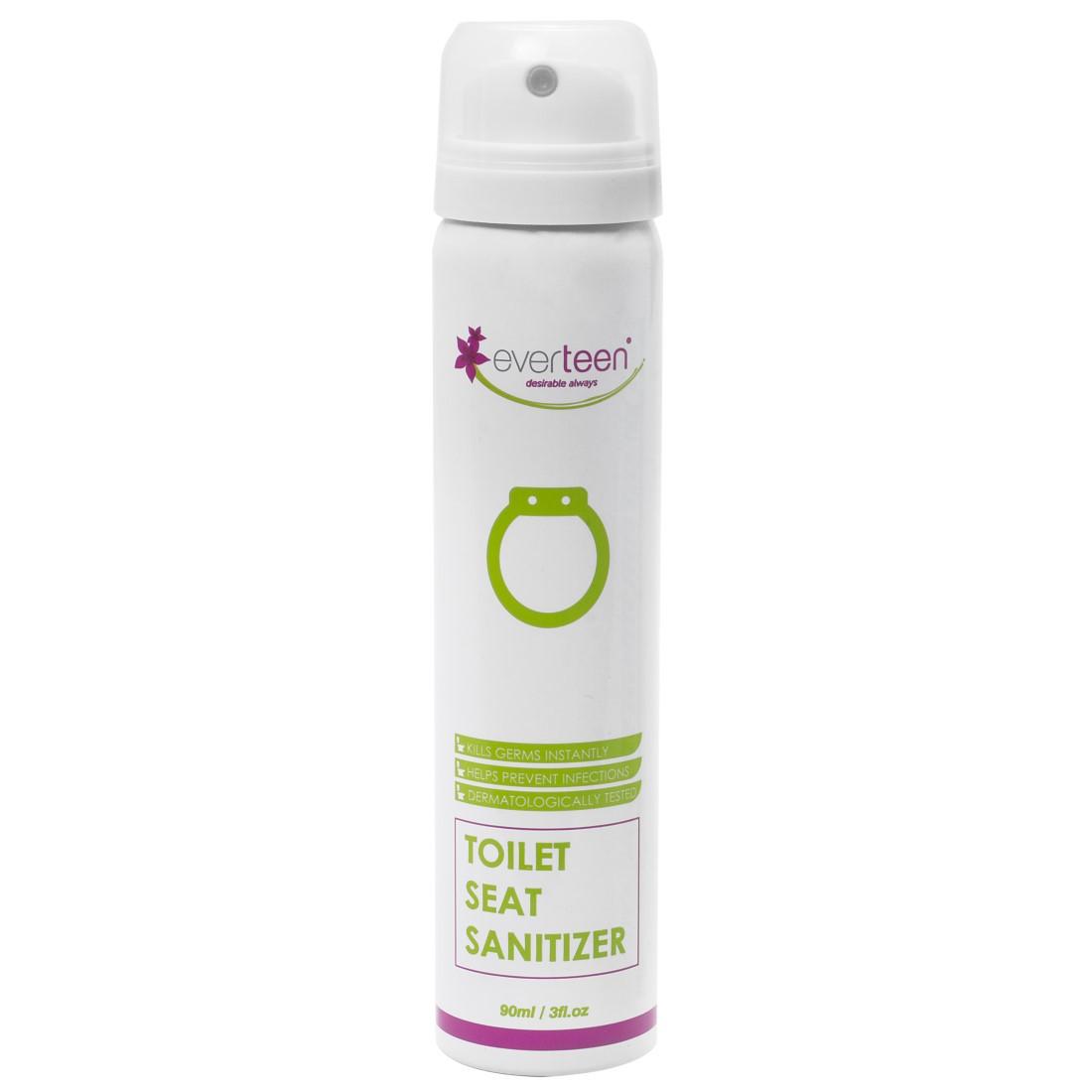 everteen® Instant Toilet Seat Sanitizer Spray for Women – 90ml