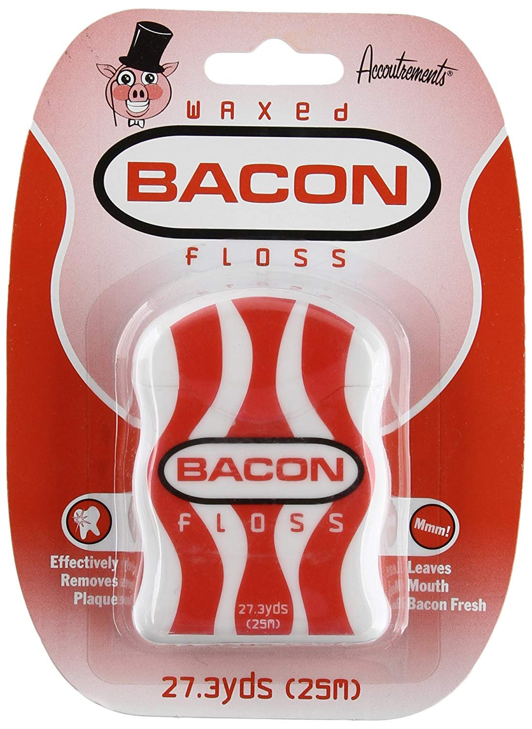 Accoutrements Waxed Bacon Floss