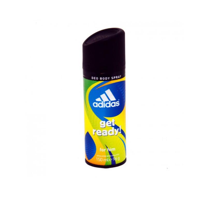 Adidas Deodorant Body Spray Get Ready For Men 150Ml