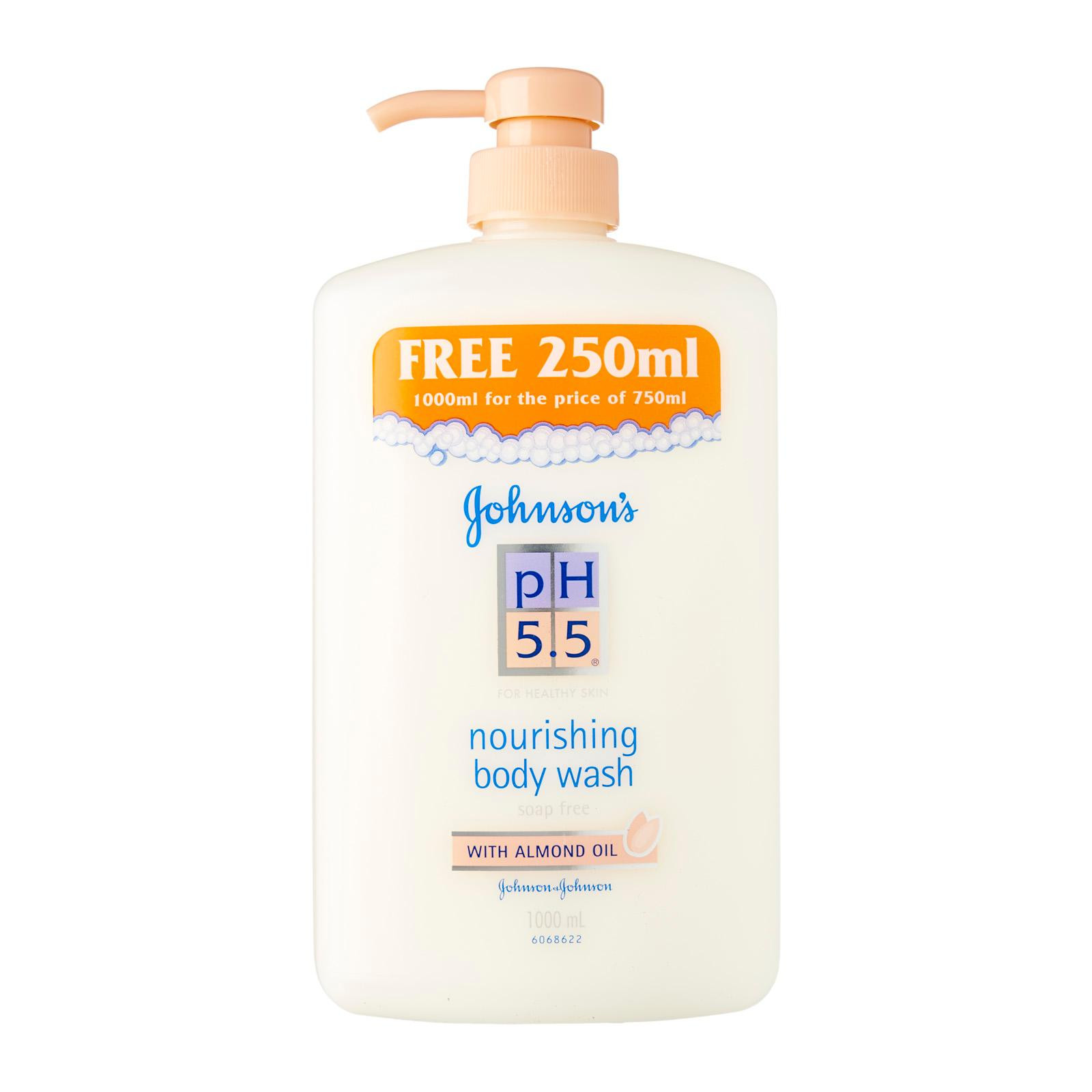 Johnson's Imported PH 5.5 Nourishing Bodywash 1000ml - Almond Oil