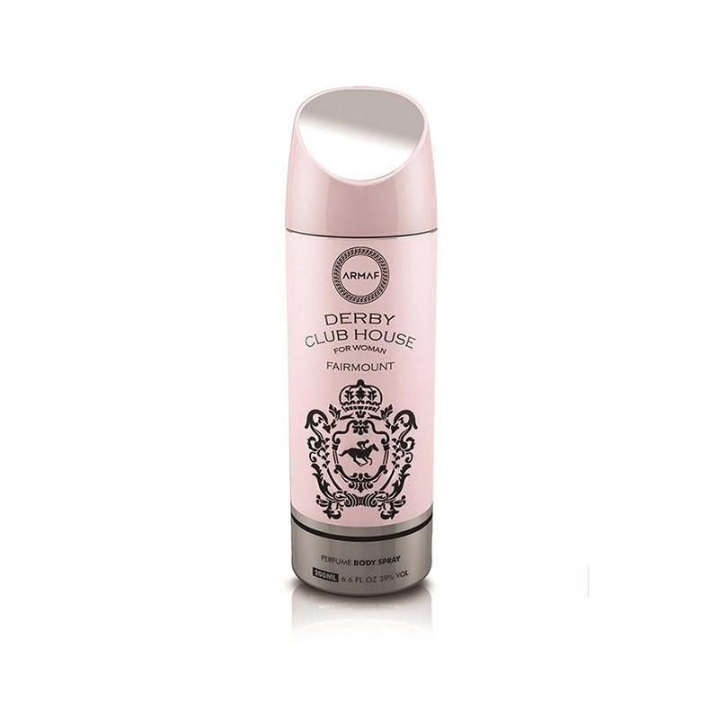 Armaf Imported Derby Club House Fairmount Deodorant Body Spray For Women 200 Ml