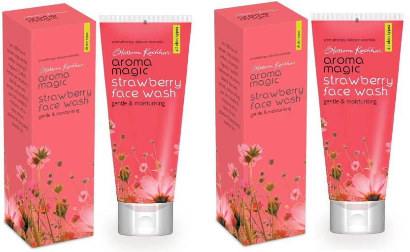 Aroma Magic Strawberry Face Wash 100ml (Pack OF 2)