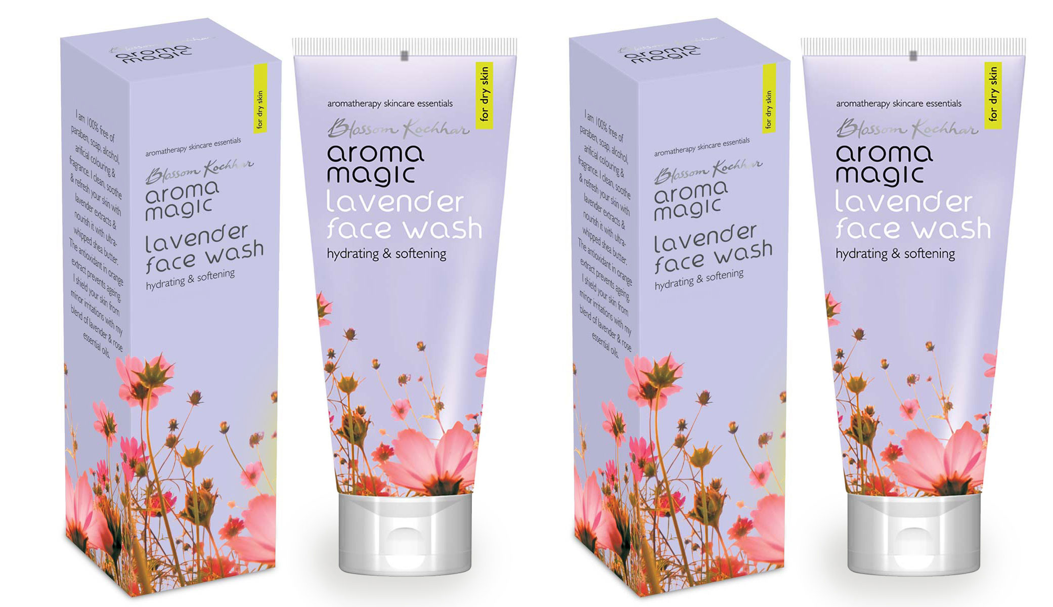 Aroma Magic Lavender Face Wash 100ml (Pack OF 2)