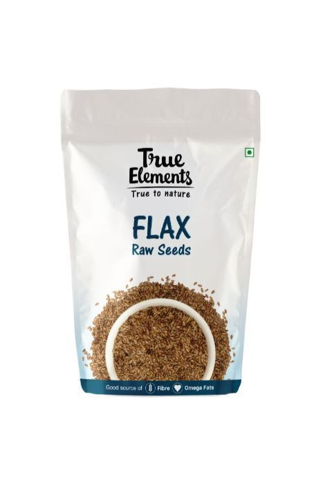 True Elements Raw Flax Seeds 150gm