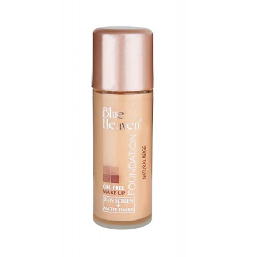 Blue Heaven Oil Free Foundation - Natural Beige (30ml)