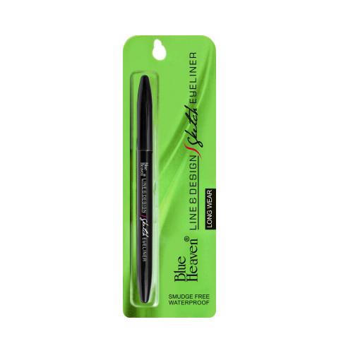 Blue Heaven Line and Design Sketch Eye Liner, Black, 1g