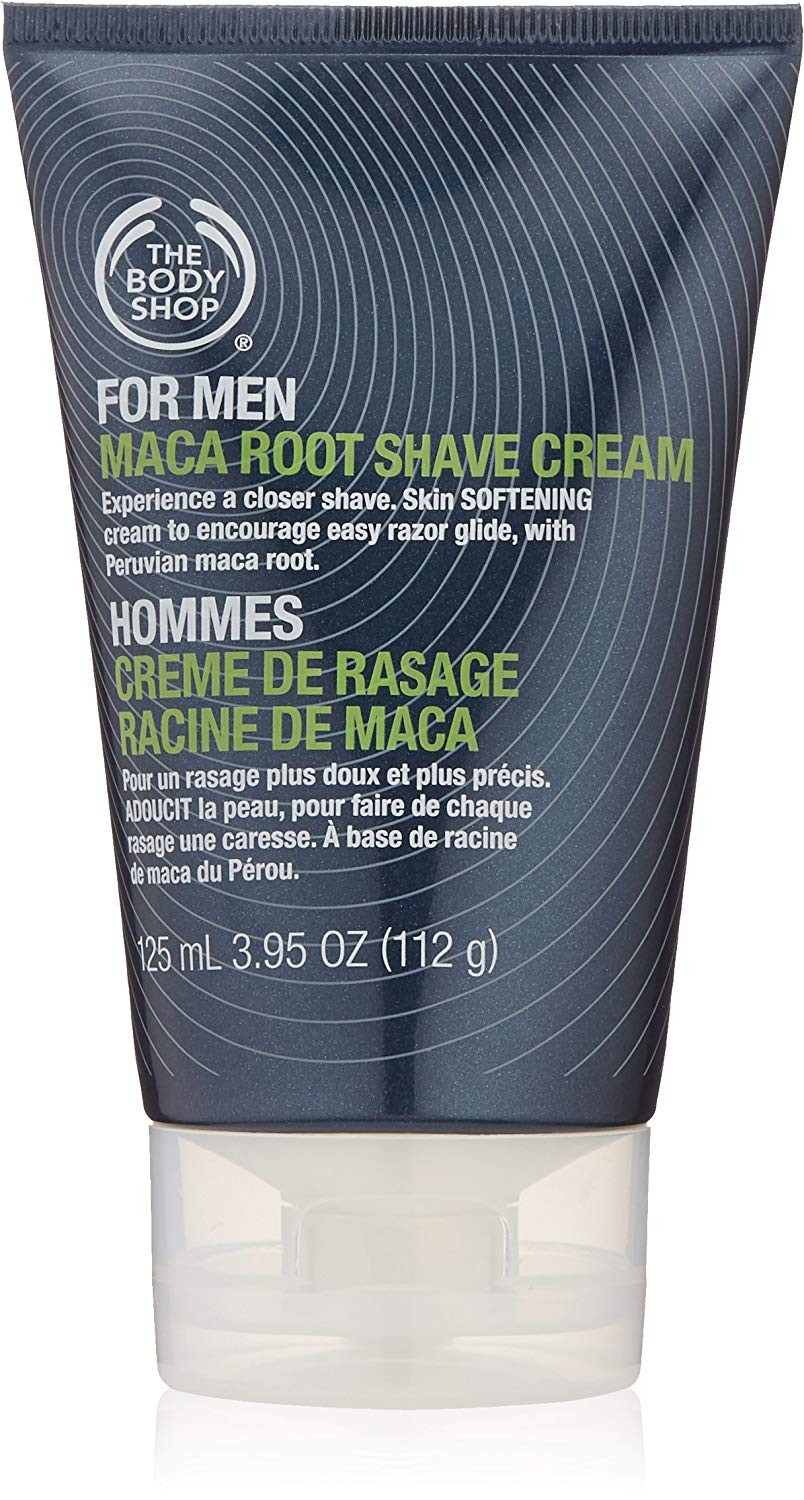 The Body Shop For Men Maca Root Shave Cream Small, 3.95-Fluid Ounce