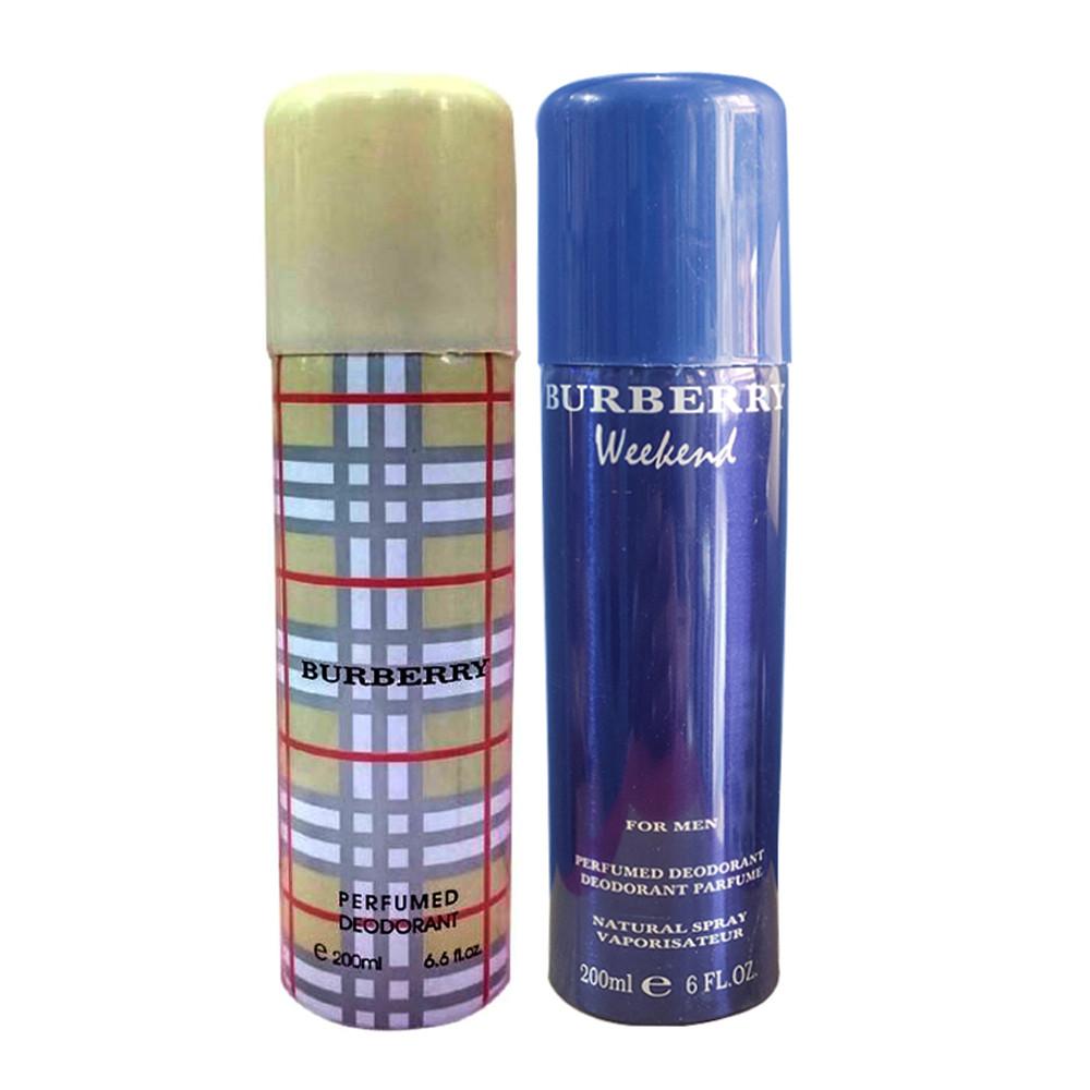 Burberry Deodorant 200ml Combo