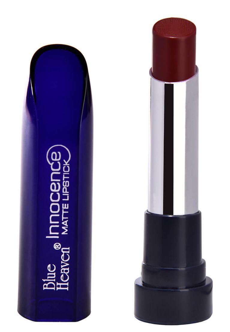 Blue Heaven Innocence Matte Lipstick 3.5 GM (Coffee-08)