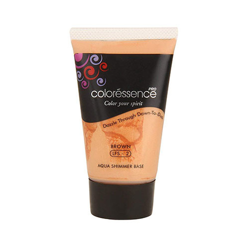 Coloressence Aqua Shimmer Base Brown With shimmer LFS-2 35 Ml
