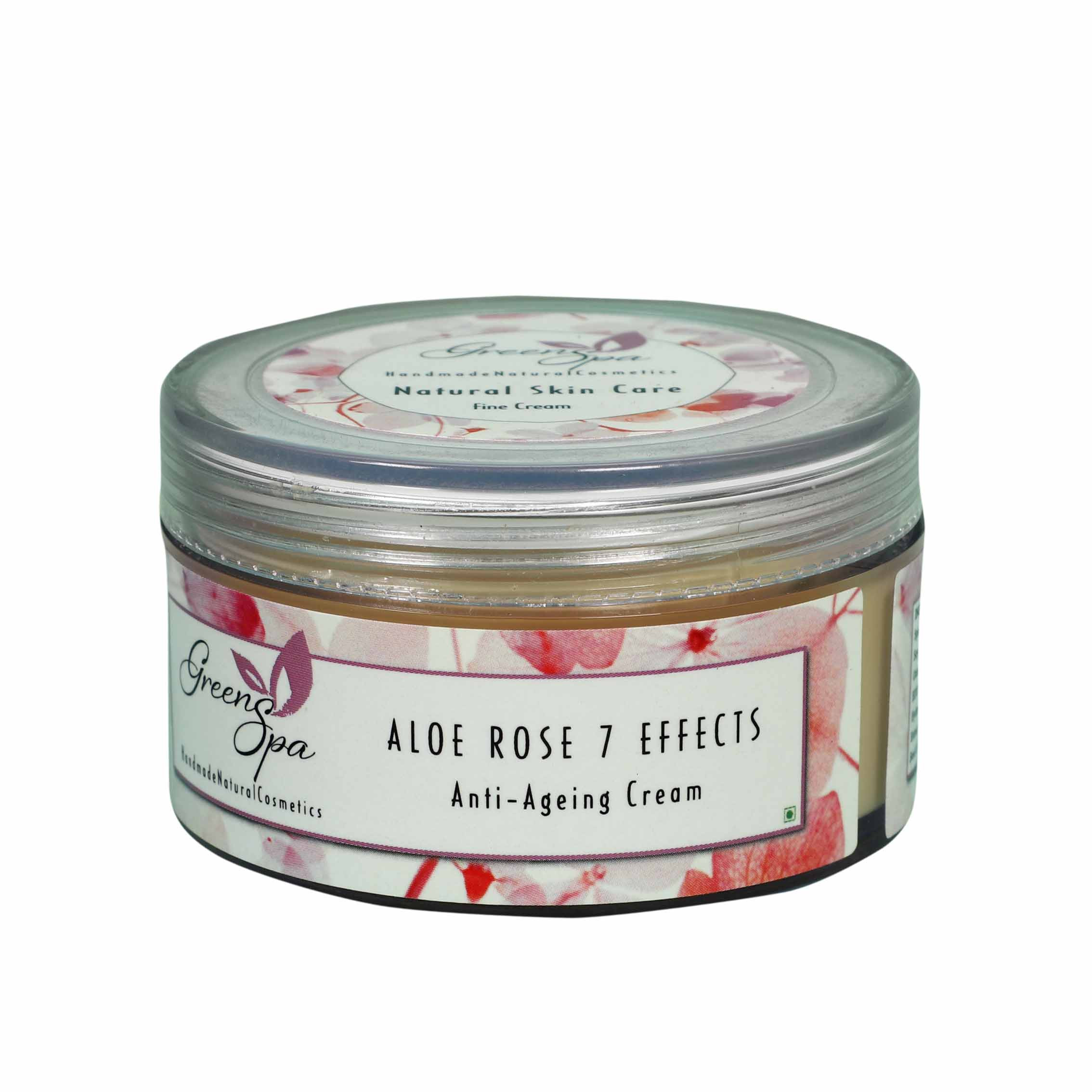 Greenspa  Aloe Rose 7 Effects Anti Ageing Cream