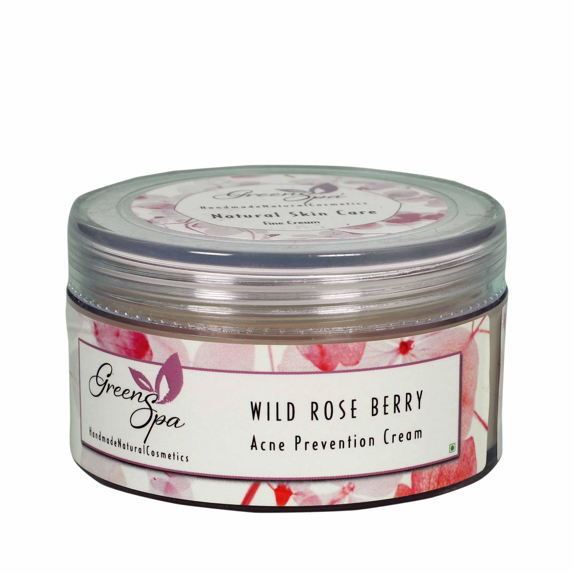 Greenspa Wild Rose Berry Acne Prevention Cream 50gm