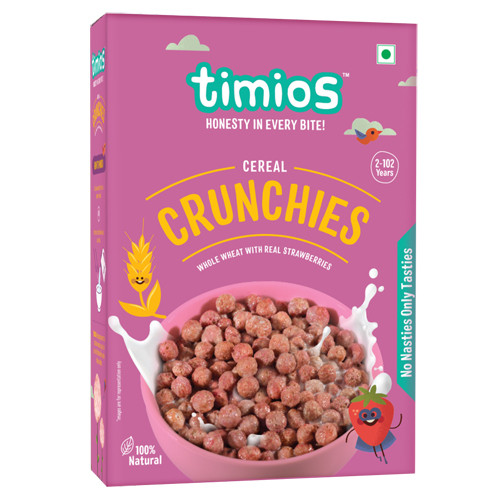 Timios Crunchies Breakfast Cereals Box