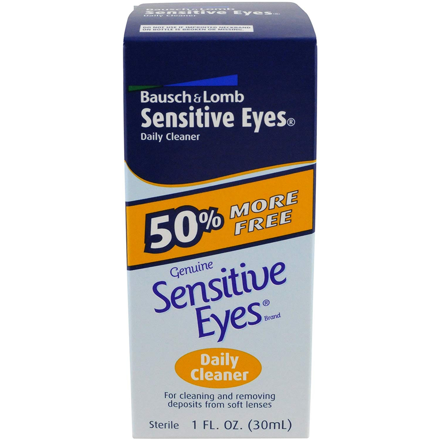 Bausch & Lomb Sensitive Eyes Daily Cleaner, 1 Ounce