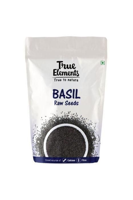 True Elements Basil seeds 250gm