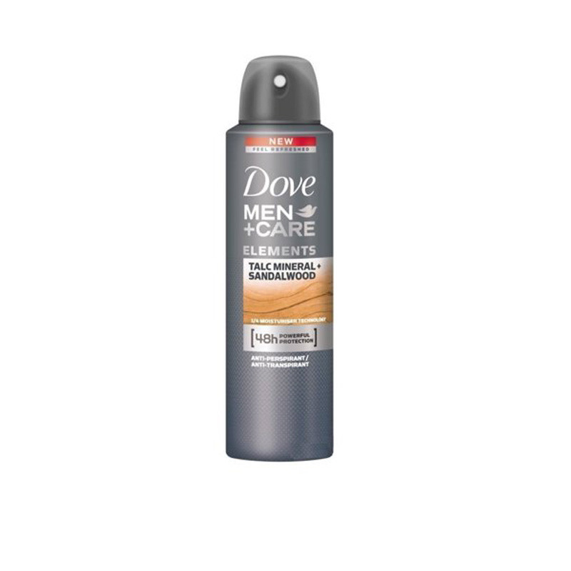Dove Apa Talc Min and Sandalwood Deodorant for Men, 150ml